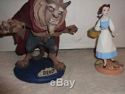 LIMITED Edition 257/ 500 Disney Animator Maquette 1993 Beauty And The Beast RARE
