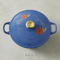 Le Creuset Beauty And The Beast Disney Cast Iron Soup Pot New In Box