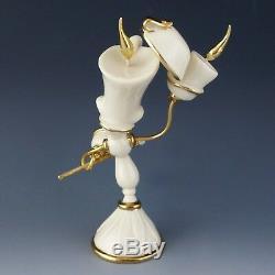 Lenox China LUMIERE Beauty and Beast Disney Showcase 5 1/4 Figurine is Mint