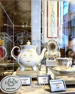 Lenox Disney Beauty and The Beast Live Action Mrs Potts Teapot 2.5 Quart NEW