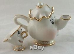 Lenox Mrs. Potts and Chip Beauty and the Beast Disney Showcase Figurine Only
