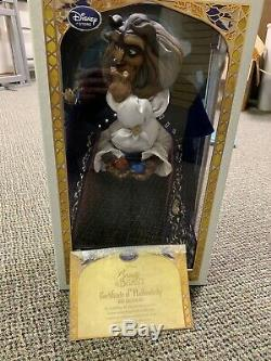 Limited Edition Disney Beauty And The Beast Doll Set Belle, Beast, And Gaston