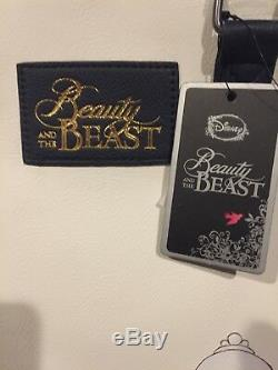 Loungefly Disney Beauty & The Beast Belle & Chip Satchel Bag Purse & Wallet