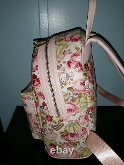 Loungefly Disney Beauty and The Beast Belle Floral Mini Backpack
