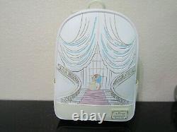 Loungefly Disney Beauty and the Beast Ballroom Sketch Mini Backpack NWT