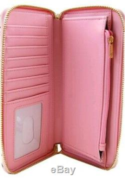 Loungefly Disney Beauty & the Beast Belle Pink Allover Backpack & Wallet Set #04