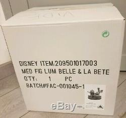 MEDIUM / Moyenne FIGURINE LUM BELLE / Beauty & LA BETE / Beast Disneyland Paris
