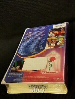 NEW! 1992 Walt Disney's Beauty and the Beast VHS 1325 THE CLASSICS Black Diamond
