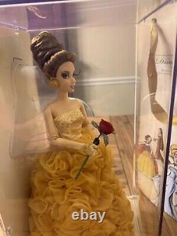 NEW Disney Princess Designer Limited Edition Belle Doll -LE Beauty & Beast #4873
