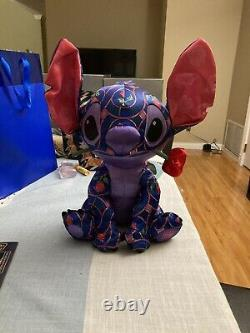 NEW Disney Stitch Crashes Disney January Plush Beauty & the Beast Free Ship