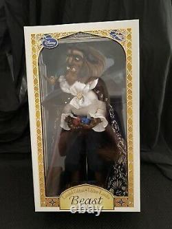 NEW Disney Store Limited Edition Beast Doll Beauty and the Beast 17 LE