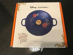 NEW LE CREUSET Special Edition Disney Beauty and the Beast Soup Pot Cast Iron