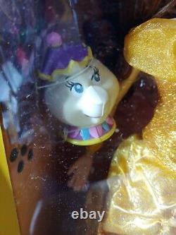 NEW Limited Edition Disney Beauty & the Beast Belle Figure Doll 16 Collectible
