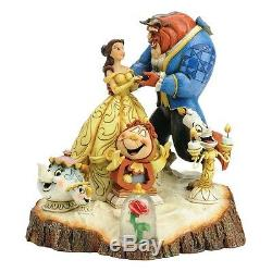 NEW OFFICIAL Disney Traditions Beauty and the Beast Figurine Figure 4031487