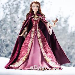 NIB Disney Limited Edition Beauty and the Beast Winter Belle Collectible Doll LE