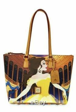 NWT BELLE Dooney & Bourke 2019 Disney Parks Beauty & Beast Tote Bag Princess