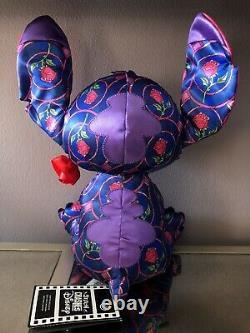 NWT Disney 2021 Stitch Crashes Beauty & the Beast January Plush Limited Edition
