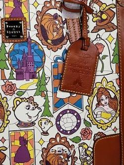 NWT Disney Beauty and the Beast Dooney & Bourke Tote