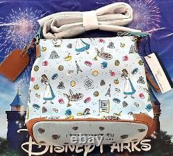 NWT Disney Dooney & Bourke 2021 Food & Wine Crossbody Bag Beauty And Beast Belle