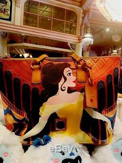 New Disney Beauty and the Beast Belle Tote by Dooney & Bourke