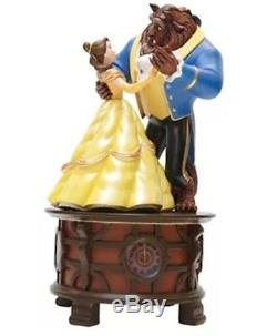 New Disney Parks Beauty and the Beast Music Box Figurine Tale As Old As Time