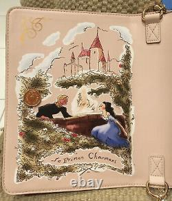 Nwt Disney Beauty & The Beast Crossbody Book Style Danielle Nicole Rose Sold Out