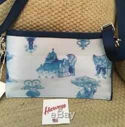 Nwt Harveys Disney Beauty And The Beast Hip Pack Crossbody Clutch Wristlet Belle