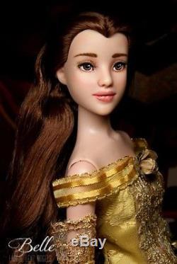 OOAK Tonner Disney Beauty & the Beast BELLE repaint dressed doll Laurie Lenz