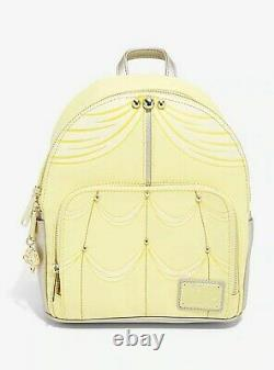 Official Loungefly Disney Beauty and the Beast Belles Dress Mini Backpack Bag