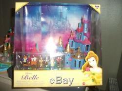 POLLY POCKET Disney 1997 Belle Beauty/The Beast Castle Vintage Disneyland Resort