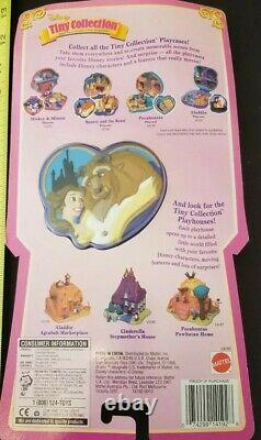 Polly Pocket 1995 Disney Beauty And The Beast Playcase Tiny Collection Bluebird