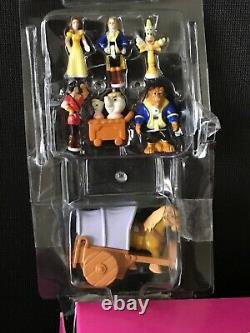 Polly Pocket Disney Beauty & The Beast Castle STUNNING CONDITION BOXED %