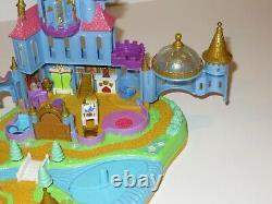 Polly Pocket- Disney's Belle, Beauty & The Beast Magical Castle- 1997-100% Comp