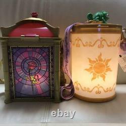 Popcorn Bucket Beauty and the Beast & Rapunzel set Tokyo Disney Resort Limited