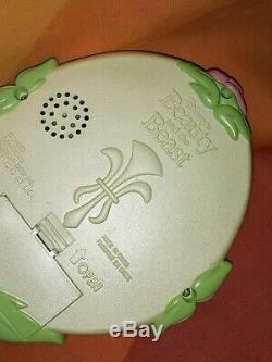 RARE Beauty & the Beast Electronic Talk N View Magic Mirror JustToys 1991 Disney