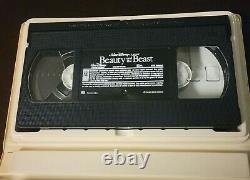 RARE Black Diamond Classic Walt Disney's Beauty And The Beast VHS