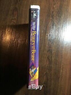 RARE Black Diamond Classic Walt Disney's Beauty And The Beast VHS Tape