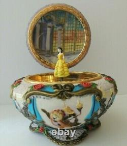 RARE Disney Princess Belle Beauty And The Beast Music Box Collectable Antique