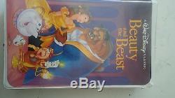 RARE Walt Disney's Beauty and The Beast VHS 1992 Black Diamond Classic