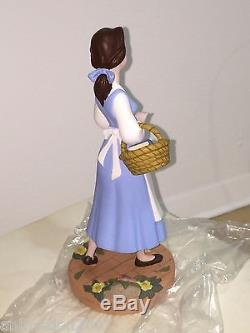 REDUCED Disney Animator's Maquettes 1993 Beauty (Belle) And The Beast Set RARE