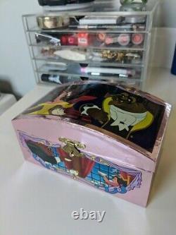 Rare Disney Beauty & the Beast magnetic dancing music box