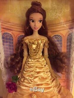 Rare Disney Store Limited Edition Of 5000 Belle Doll Beauty And The Beast 17