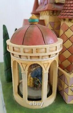 Rare Disney Traditions Jim Shore Beauty and the Beast Enchanted Kingdom Castle