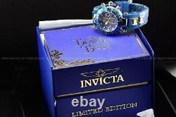 Rare Invicta 47mm Disney BEAUTY AND THE BEAST Lim Ed xxx/500 Blue Swiss 6J Watch