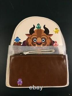 Rare Loungefly Disney Beauty & The Beast Chibi Mini Backpack New With Tags