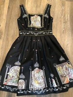 Secret Honey Japan Disney Beauty And The Beast Dress NWOT