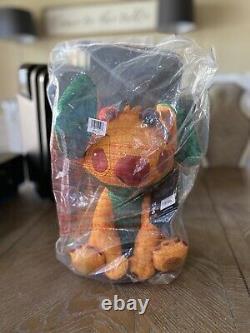 Set of 4 Stitch Crashes Disney Plush Beauty Beast Pinocchio Lion King Aladdin