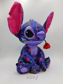 Stitch Crashes Disney Beauty And The Beast Plush Limited Release! BNWT 1/12