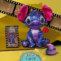 Stitch Crashes Disney Beauty And The Beast Stitch Plush Pin & Magic Band In Hand