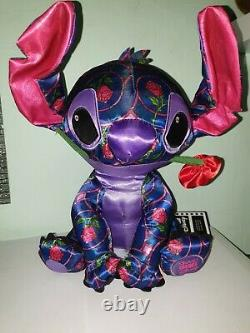 Stitch Crashes Disney Beauty and The Beast Plush BNWT 1/12 Jan OOS RARE